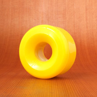 Seismic Cry Baby 60mm 80a Yellow Wheels