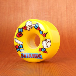 Seismic Cry Baby 64mm 80a Yellow Wheels