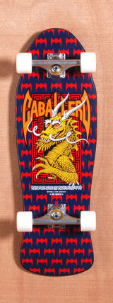 "Powell 29.75"" Caballero Street Skateboard Complete - Red"