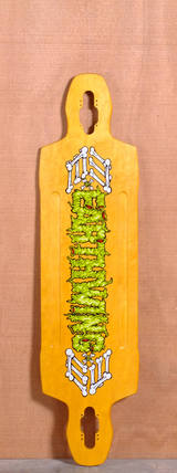 "Earthwing 40"" 9-Ply Supermodel Longboard Deck - Yellow"
