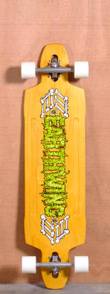 "Earthwing 40"" 9-Ply Supermodel Longboard Complete - Yellow"