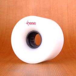 These 66mm 80a ATF 317 Wheels - White