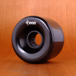 These 66mm 80a ATF 327 Wheels - Black