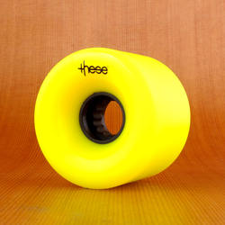 These 66mm 80a ATF 327 Wheels - Yellow
