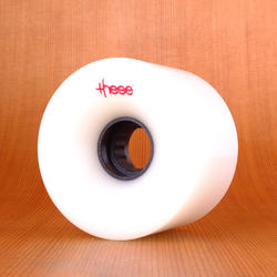 These 69mm 80a ATF 317 Wheels - White