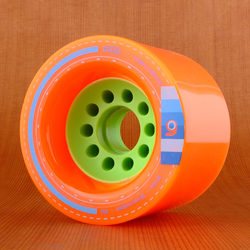 Orangatang Kegel 80mm 80a Wheels - Orange