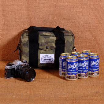 Poler Camera Cooler - Furry Camo
