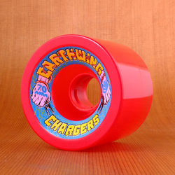 Earthwing Chargers 70mm 78a Wheels - Red
