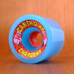 Earthwing Chargers 70mm 81a Wheels - Blue