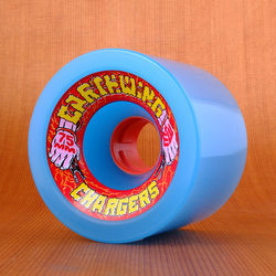 Earthwing Chargers 75mm 81a Wheels - Blue