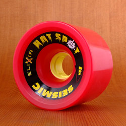 Seismic Hot Spot 76mm 82a Wheels - Red