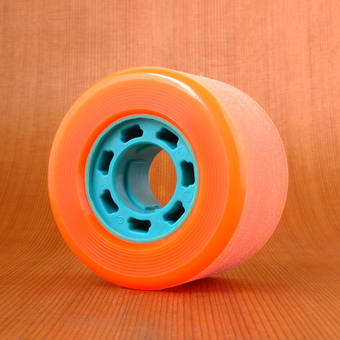 Hawgs Mini Zombie 70mm 84a Wheels - Orange