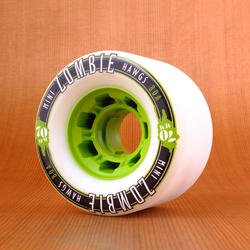 Hawgs Mini Zombie 70mm 80a Wheels - White