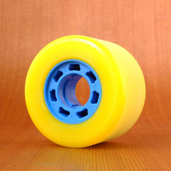 Hawgs Mini Zombie 70mm 82a Yellow Wheels