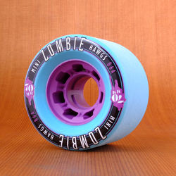 Hawgs Mini Zombie 70mm 86a Wheels - Teal