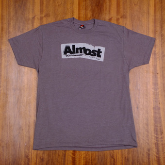 Almost Bent Out Of Shape T-Shirt - Dark Platinum Heather