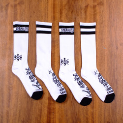 Creature Hesh Crue Socks 2 Pack - White