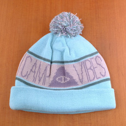 Poler Camp Vibes Beanie - Forest Service Green