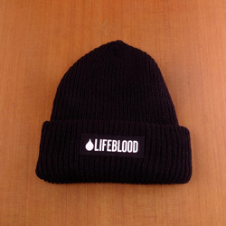 Lifeblood Beanie - Black