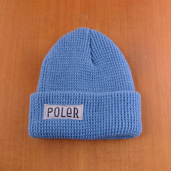 Poler Worker Man Beanie - Columbia Blue