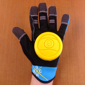 Sector 9 BHNC Slide Gloves - Blue