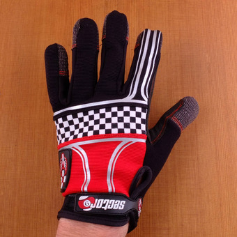 Sector 9 BHNC Slide Gloves - Checkered