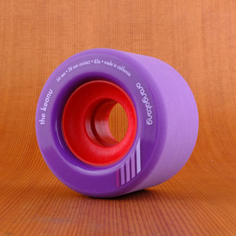 Orangatang The Keanu 66mm 83a Wheels - Purple