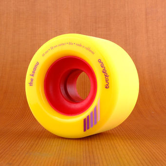 Orangatang The Keanu 66mm 86a Wheels - Yellow