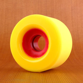 Orangatang The Cage 73mm 86a Wheels - Yellow