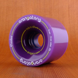 Orangatang 70mm 83a 4President Purple Wheels