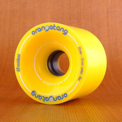 Orangatang 70mm 86a 4President Yellow Wheels
