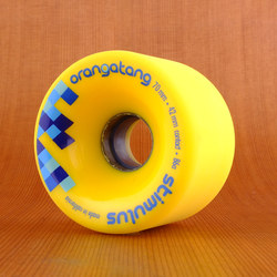 Orangatang Stimulus 70mm 86a Wheels - Yellow