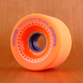 Orangatang Moronga 72.5mm 80a Wheels - Orange