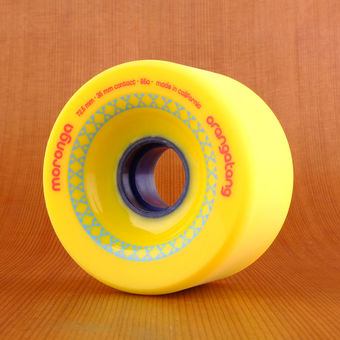 Orangatang Moronga 72.5mm 86a Wheels - Yellow