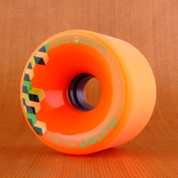 Orangatang 75mm 80a Durian Orange Wheels