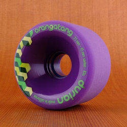 Orangatang 75mm 83a Durian Purple Wheels
