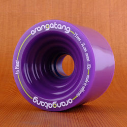 Orangatang 75mm 83a In Heat Purple Wheels