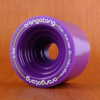 Orangatang In Heat 75mm 83a Wheels - Purple