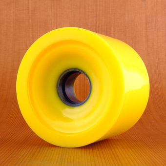 Orangatang In Heat 75mm 86a Wheels - Yellow