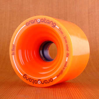 Orangatang In Heat 75mm 80a Wheels - Orange