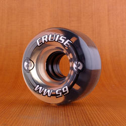 Kryptonics Cruise 65mm 78a Wheels - Clear