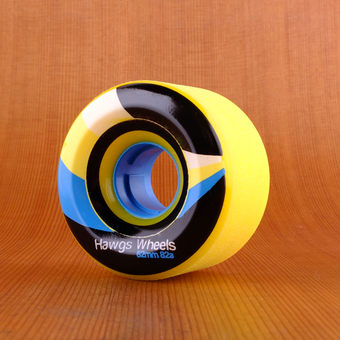 Hawgs Street 62mm 82a Wheels - Yellow