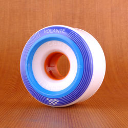 Volante Checker 68mm 82a Wheels - White