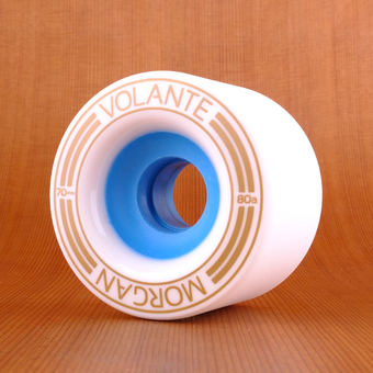 Volante Morgan 70mm 80a Wheels - White