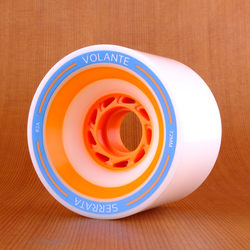 Volante Serrata 72mm 82a Wheels - White