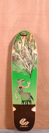 "Comet 38"" Shred Longboard Deck"