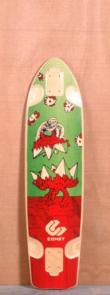 "Comet 39.25"" Takeover Longboard Deck"