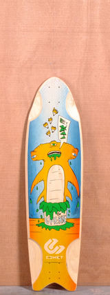 "Comet 36"" Grease Hammer Longboard Deck"