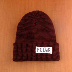 Poler Worker Man Beanie - Chocolate