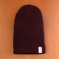 Poler Tube City Beanie - Dark Brown